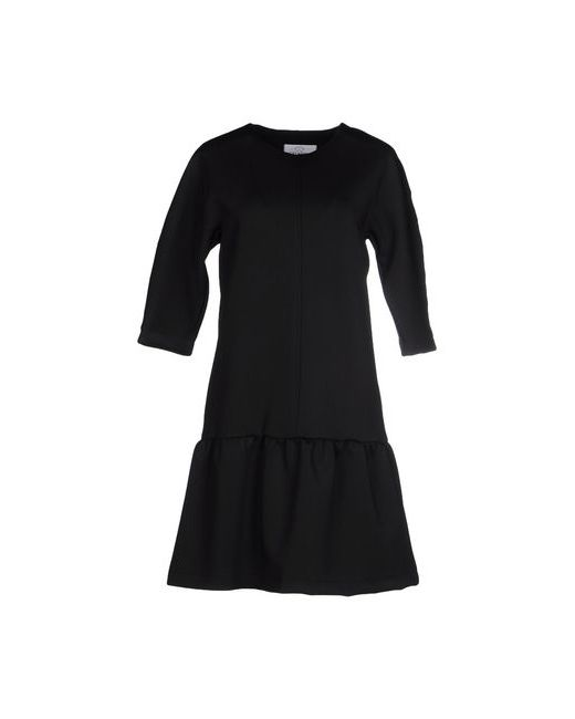 Verysimple | Женское Чёрное Короткое Платье