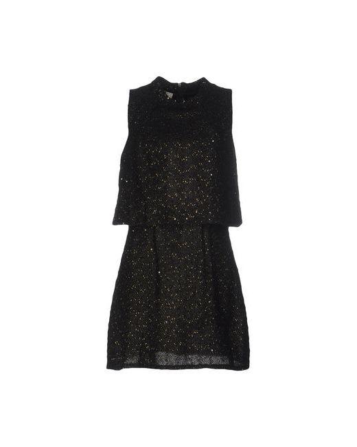 Lou Lou London   Женское Чёрное Короткое Платье