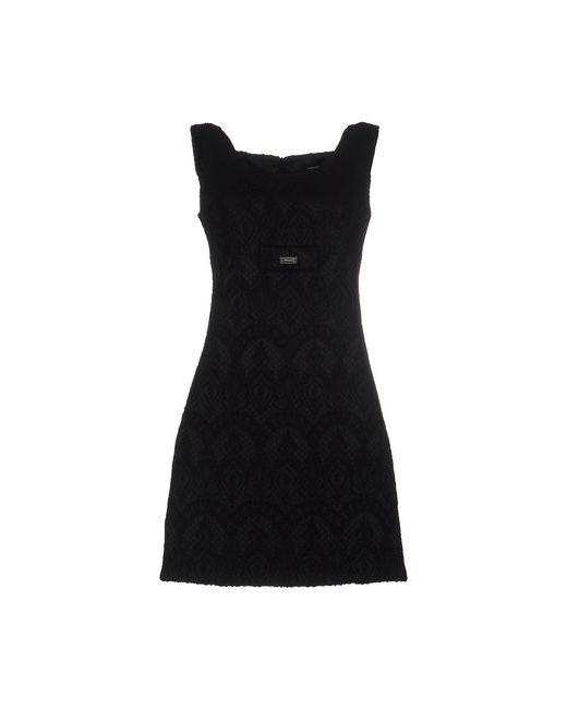 Fornarina | Женское Чёрное Короткое Платье