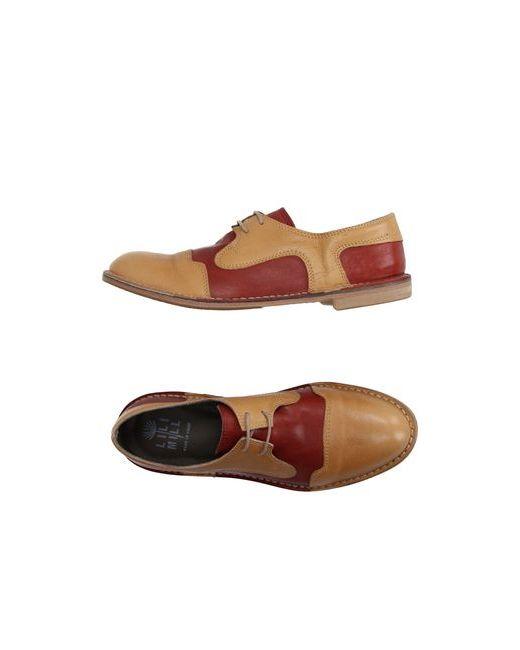 Lilimill | Мужская Коричневая Обувь На Шнурках