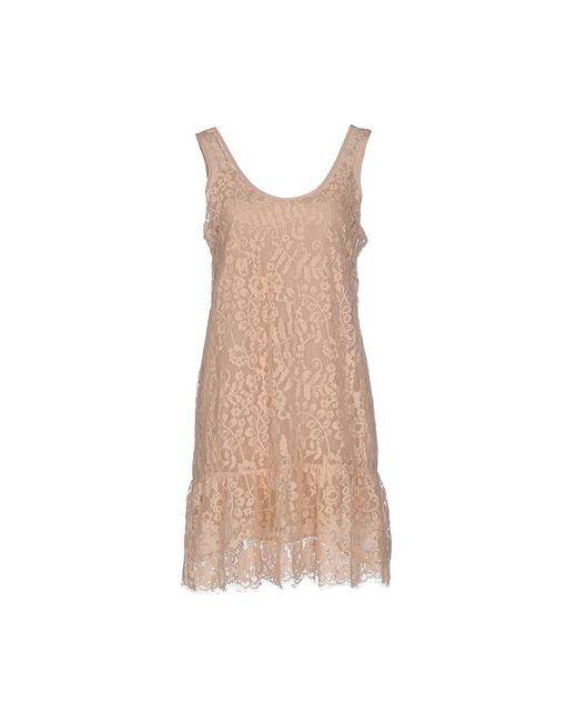Falcon & Bloom | Женское Песочное Короткое Платье