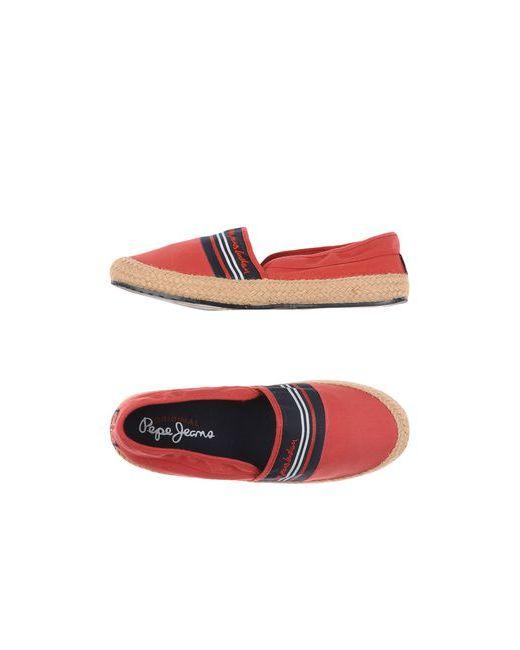 Pepe Jeans London | Женские Красные Эспадрильи