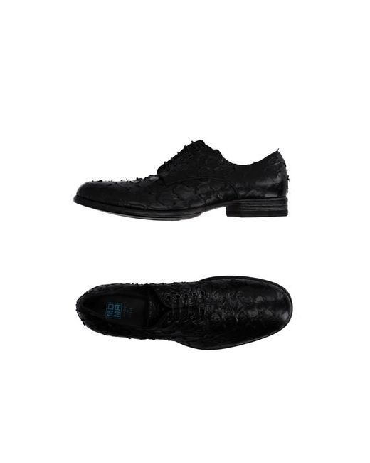 Moma | Мужская Чёрная Обувь На Шнурках