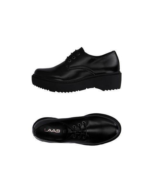 LAAB | Мужская Чёрная Обувь На Шнурках