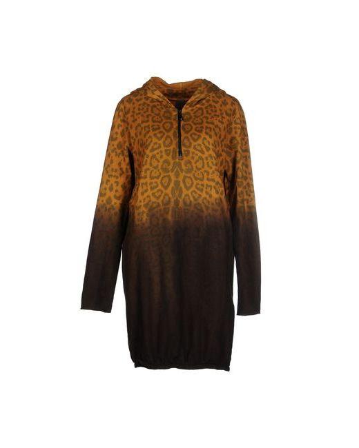 Jijil | Женское Охра Короткое Платье