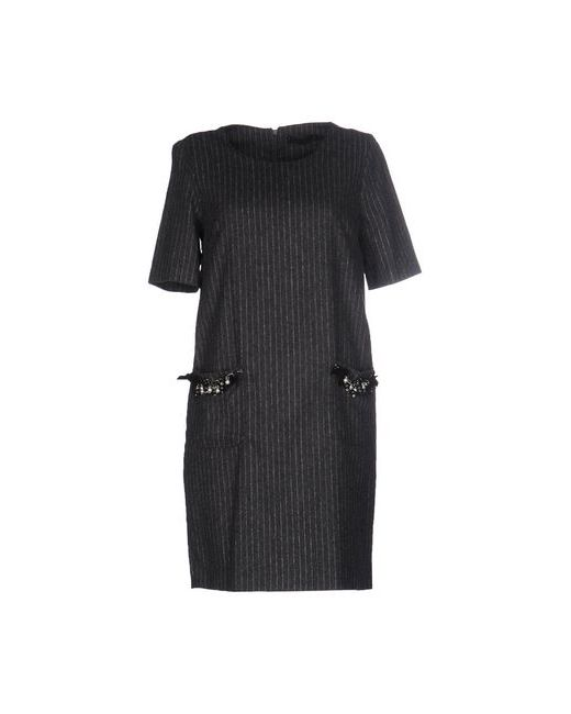 Twin-Set Simona Barbieri | Женское Серое Короткое Платье