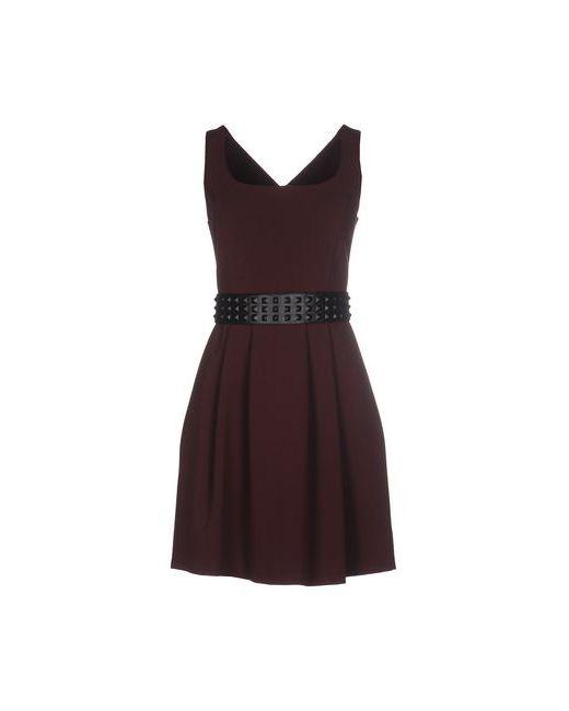 Hope Collection   Женское Баклажанное Короткое Платье