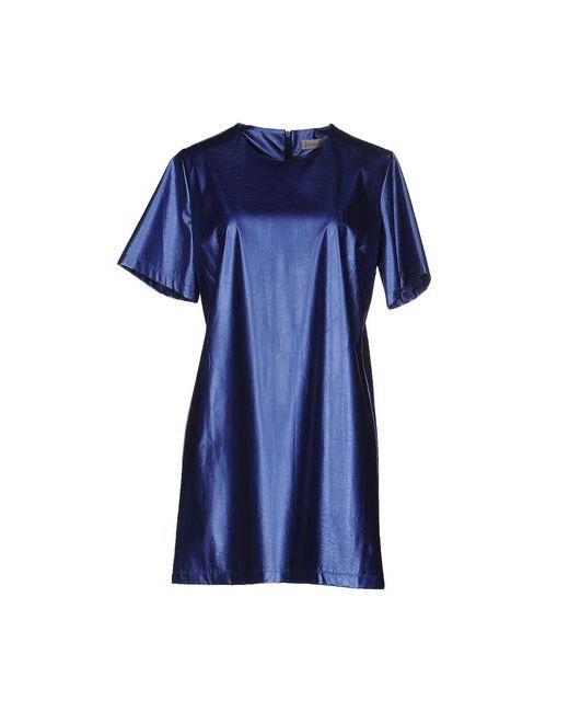 Face To Face | Женское Синее Короткое Платье