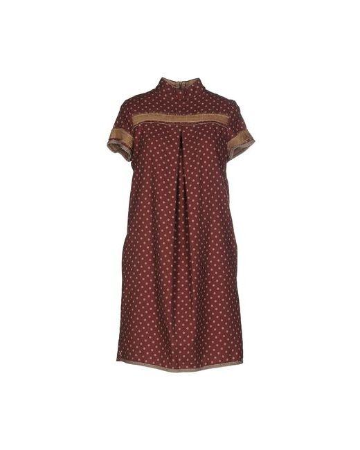 Manila Grace | Женское Фиолетовое Короткое Платье
