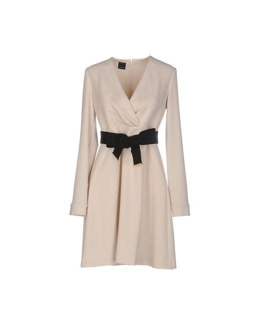 Pinko Black | Женское Слоновая Костящее Короткое Платье