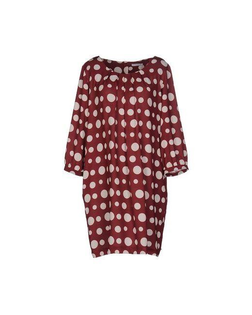 Hope Collection   Женское Коричневое Короткое Платье