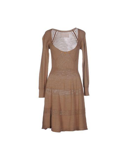 Betty Blue   Женское Верблюжье Короткое Платье