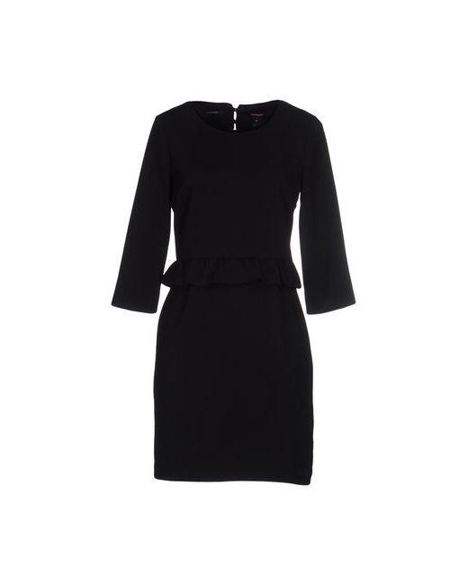 Maison Scotch | Женское Чёрное Короткое Платье