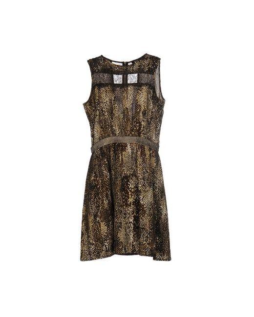 MORGAN DE TOI | Женское Зелёное Короткое Платье