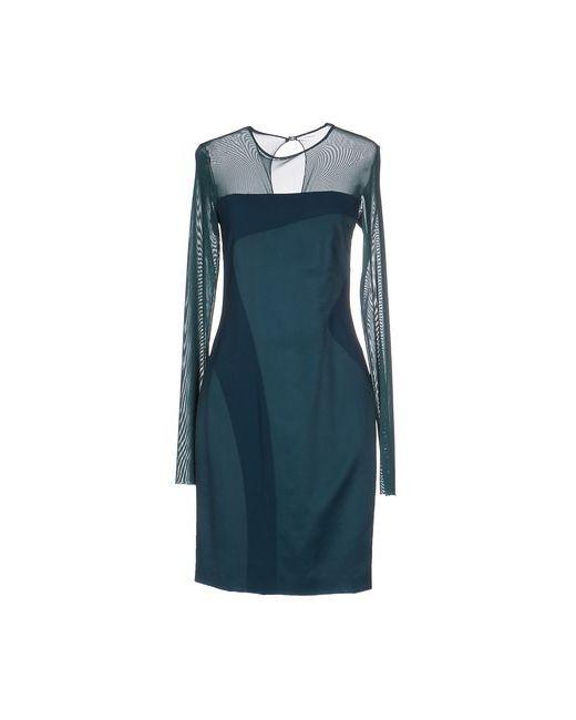 Pinko Black   Женское Цвет Морской Волны Короткое Платье