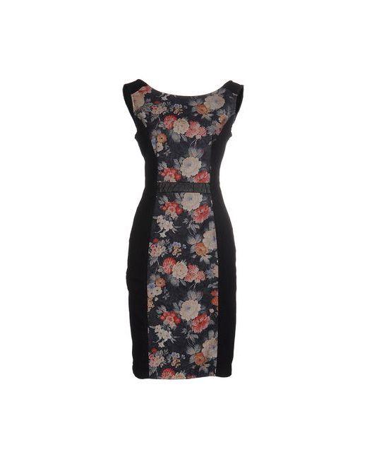 Kaos | Женское Чёрное Короткое Платье
