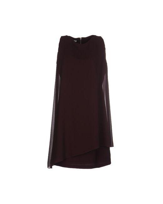Hope Collection | Женское Баклажанное Короткое Платье