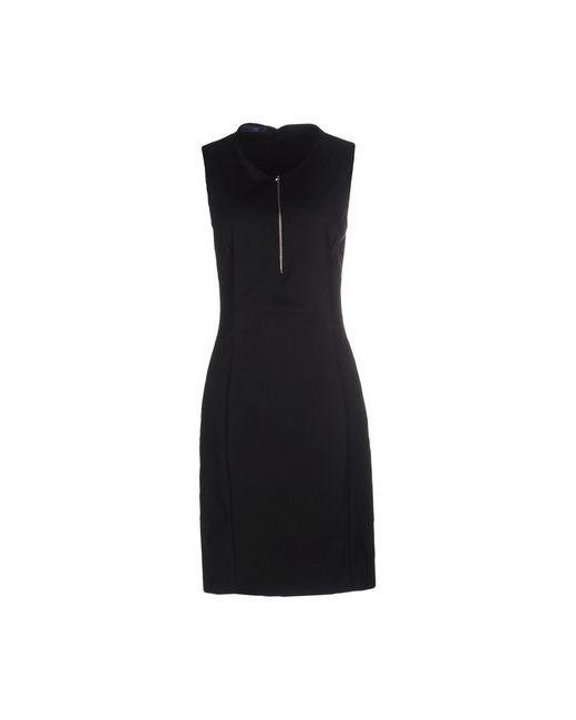Blue Les Copains | Женское Чёрное Платье До Колена