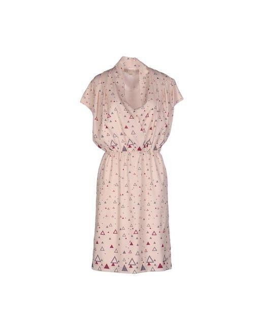 Nougat London | Женское Бежевое Платье До Колена