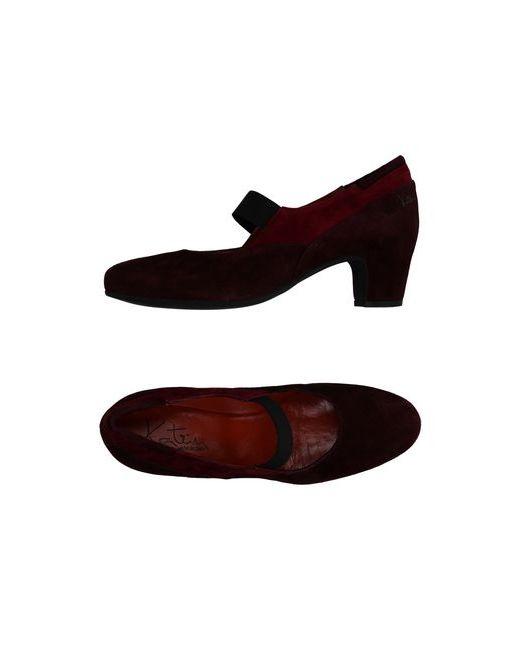 Katrin | Женские Баклажанные Туфли
