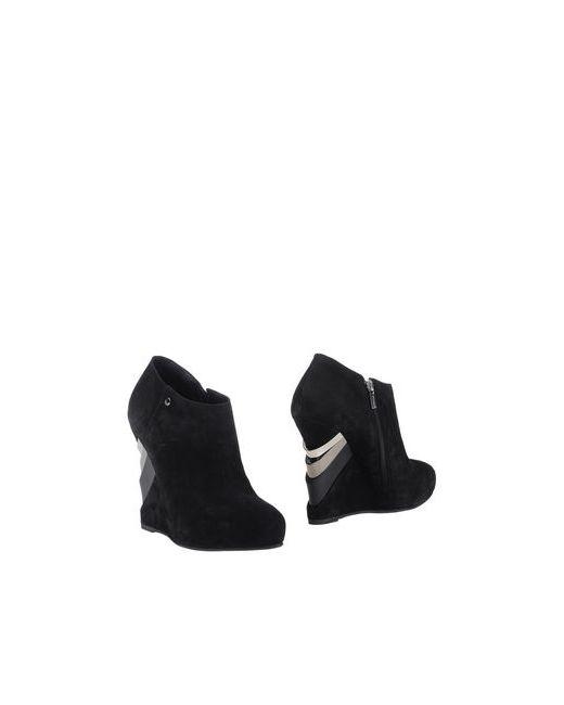 Le Silla | Женские Чёрные Ботинки