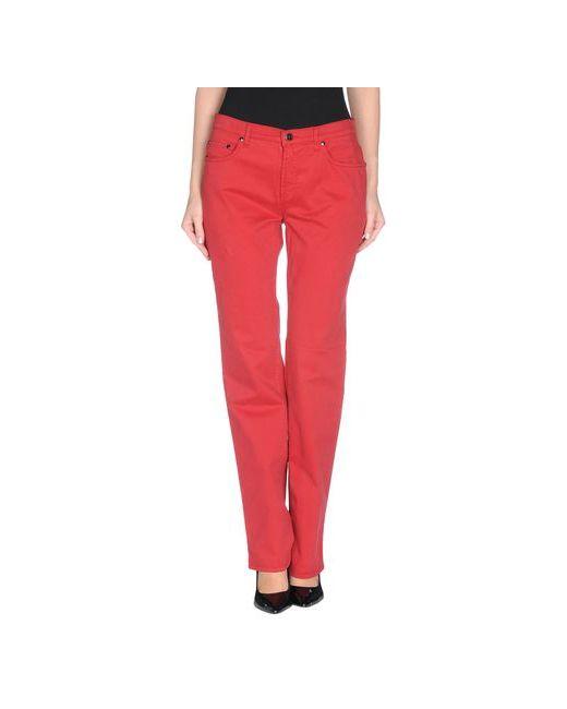 Trussardi Jeans | Женские Красные Повседневные Брюки