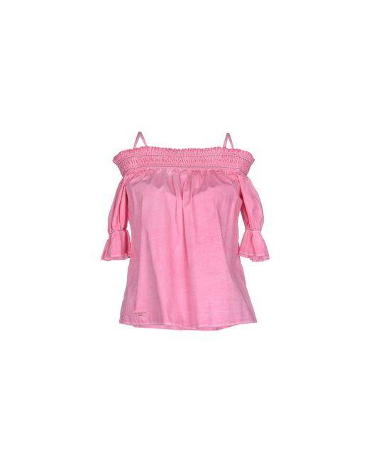 Manila Grace Denim | Женская Розовая Блузка