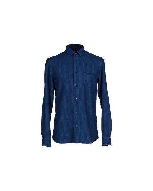 Eugenio Sorrentino | Мужская Синяя Pубашка