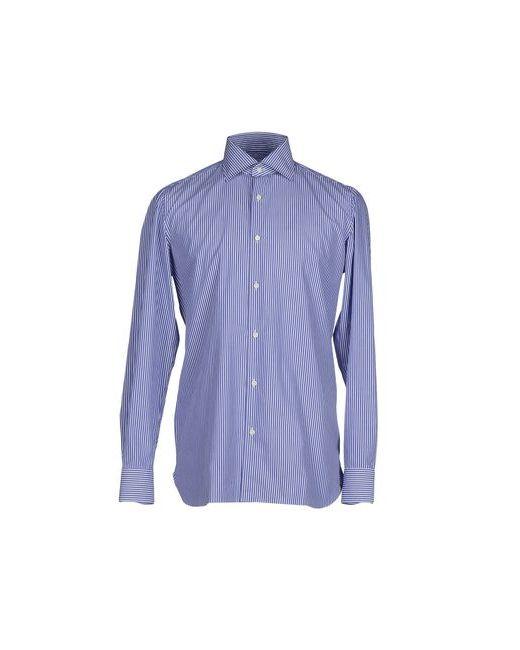Luigi Borrelli Napoli | Мужская Синяя Pубашка
