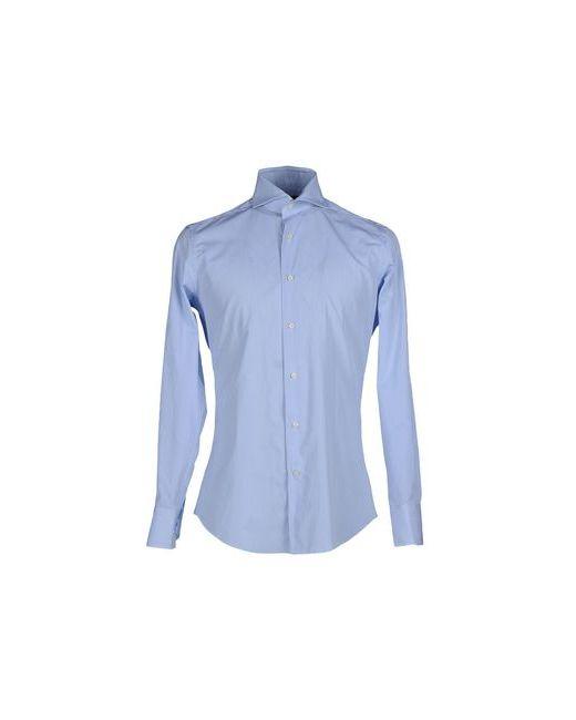 Cerdelli | Мужская Голуба Pубашка
