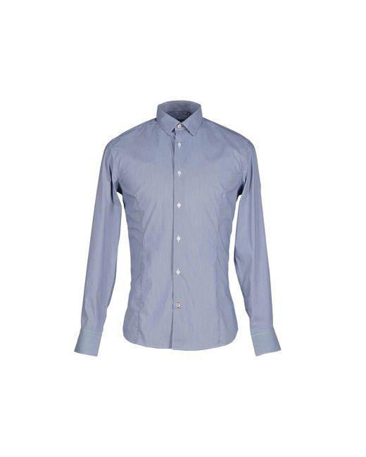 ERMANNO MORI | Мужская Синяя Pубашка