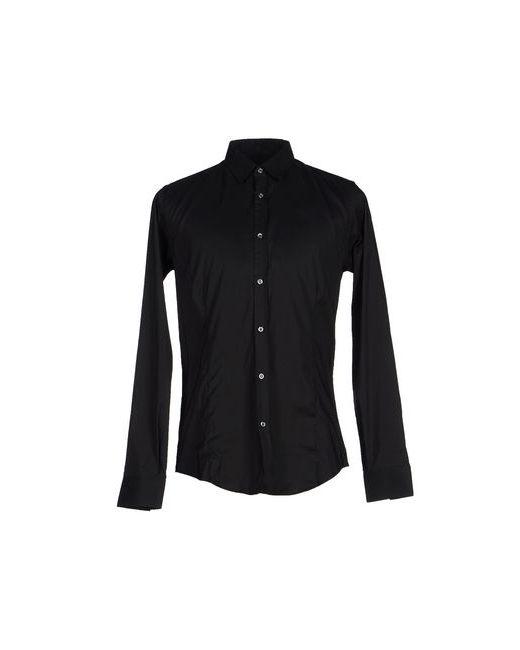 Gazzarrini   Мужская Чёрная Pубашка