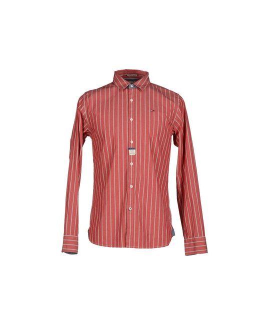 Tommy Hilfiger Denim   Мужская Красная Pубашка