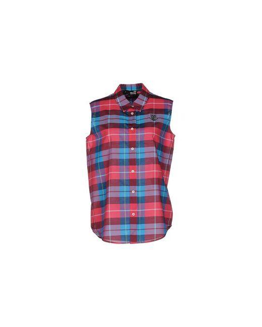 Love Moschino   Мужская Фиолетовая Pубашка