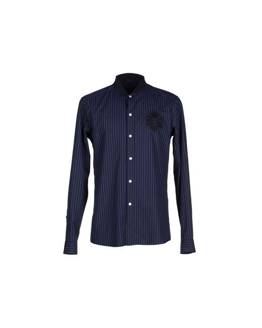 Just Cavalli | Мужская Синяя Pубашка