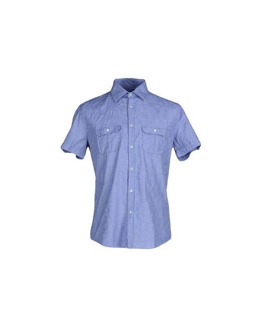 Robert Friedman   Мужская Синяя Pубашка