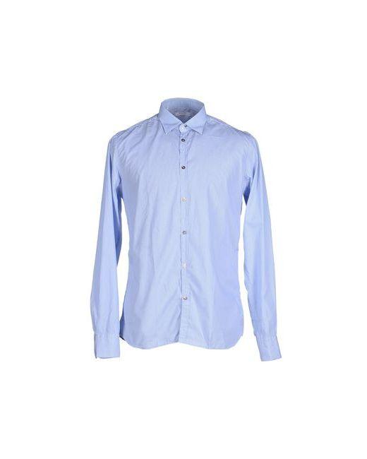 Aglini | Мужская Лазурная Pубашка