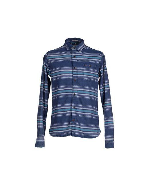 Tommy Hilfiger Denim | Мужская Синяя Pубашка