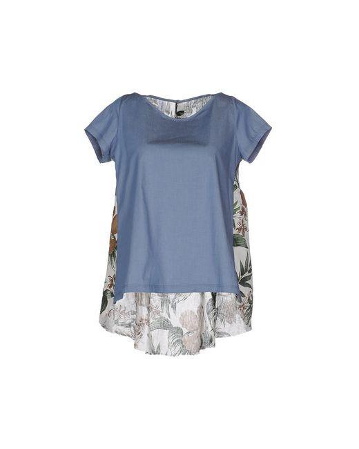 Etichetta 35 | Женская Синяя Блузка