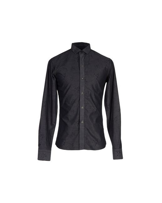 Philipp Plein Homme | Мужская Чёрная Pубашка