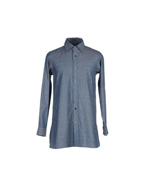 Ts(S) | Мужская Синяя Pубашка