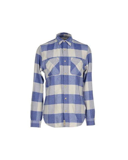 Denim & Supply Ralph Lauren   Мужская Синяя Pубашка