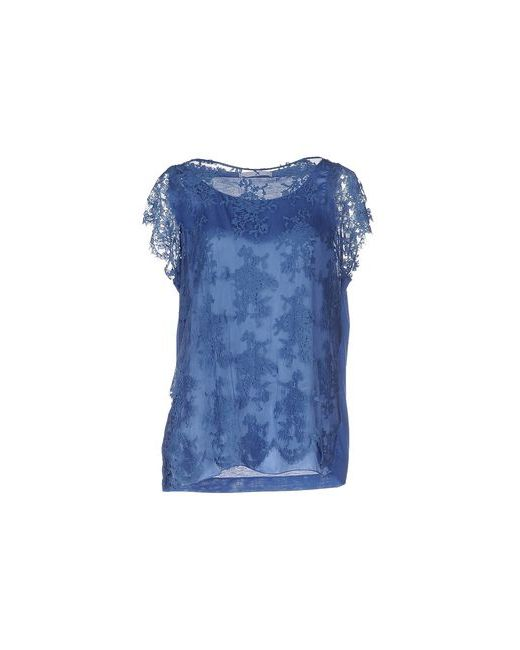 Les Copains | Женская Синяя Блузка