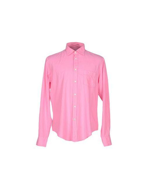 Hartford   Мужская Фиолетовая Pубашка