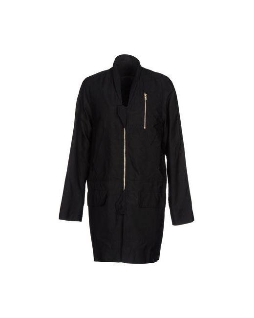 Rick Owens | Женское Чёрное Легкое Пальто