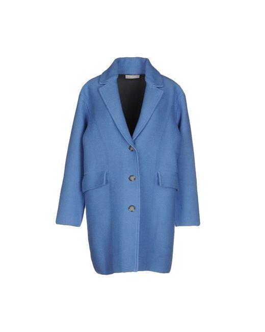 Stefanel | Женское Синее Легкое Пальто
