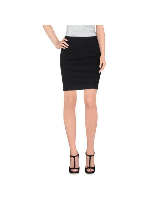 Calvin Klein Jeans | Женская Чёрная Мини-Юбка