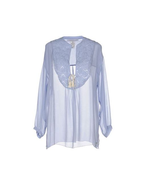 La Fabbrica Del Lino | Женская Голуба Блузка