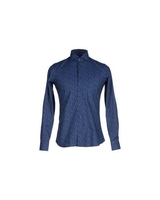 AVIGNON | Мужская Синяя Pубашка