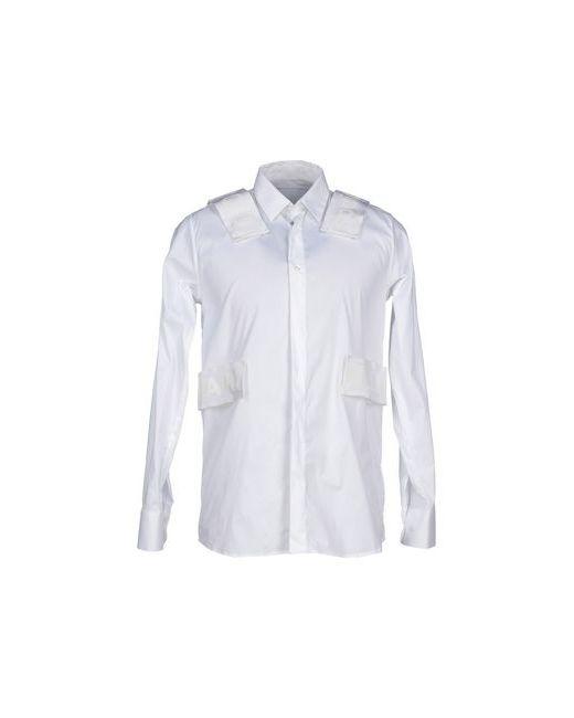 MATTHEW MILLER | Мужская Белая Pубашка